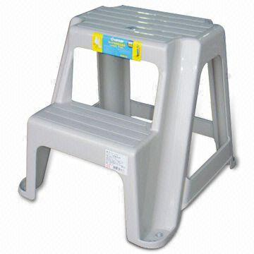 Taiwan Two-step Ladder Chair, Made of Plastic, Measures 338