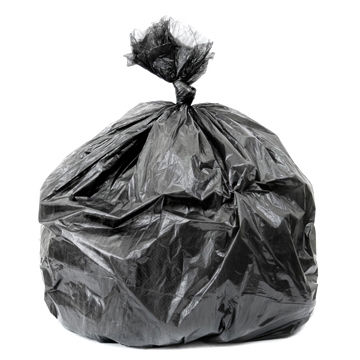 China Hdpe Idpe Material Plastic Trash Bags