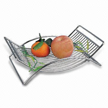 china metal wire fruit basket made of iron wire or 304 316 304l