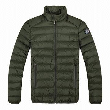 Men&39s Down Jacket with Lightweight Nylon Fabric | Global Sources