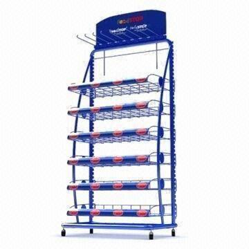 Metal Display Rack Wire Display Stand For Fruits And Sugar