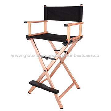 Outstanding Aluminum Foldable Directors Chairs Makeup Chairs Global Uwap Interior Chair Design Uwaporg