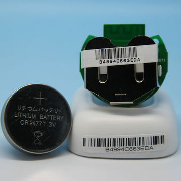 UUID Programmable Coin Cell Battery Retainer Bluetooth
