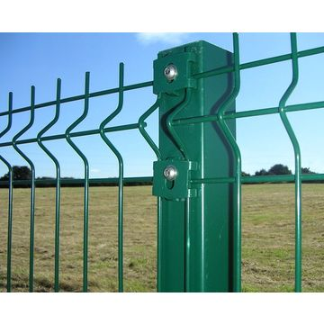 China Decorative PVC Coated Welded Wire Mesh Fence from Trading ...