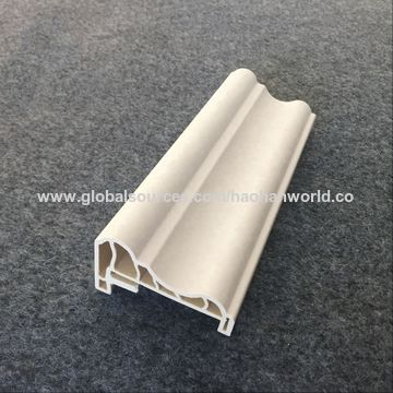 China Wholesale Crown Molding Decorative Pvc Wall Panel Finishing Trim White Clean Plastic Moulding Line On Global Sources Cornice Moldings Decoration Moulding Molding For Ceiling
