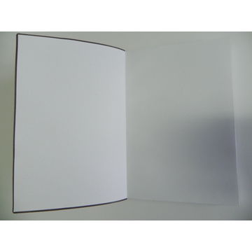 China Pu notebook with elastic band, customized design and size are accepted