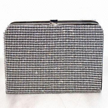 8c3add9c64 ... China (eb3010) Yimi Style Fancy Crystal Gunmetal Clutch Evening Bag