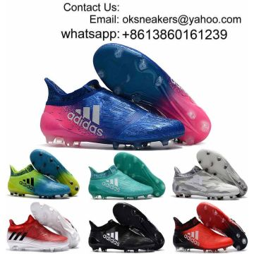 bfde9d0ac31a Wholesale Ace 17+ Purecontrol Soccer Shoes Messi X 16 Purechaos Football Boots  Messi Soccer Cleats