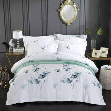 China Bedsheets 100 Cotton King Size, 100 Cotton Queen Bed Sheet Set