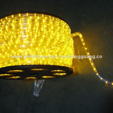 China Low Voltage 12v Or 24v Led Rope Light