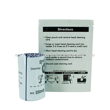china cleaning set for datacard card printer cleaning - Credit Card Printer
