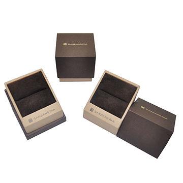 China Luxury Wood Jewelry Box Necklace Box Rigid Gift Box Jewelry