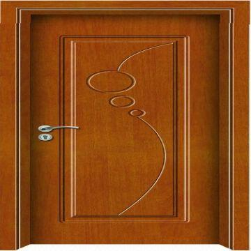 ... China Simple Design Good Price Wooden Door Op Z003