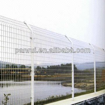 Bilateral wire fence netting 1 common and simple 2 wire dia : 3.5 mm ...