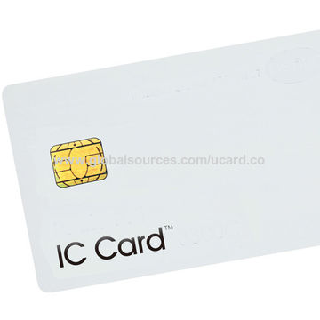 China Cr80 Credit Card Size Smart Card From Shenzhen Wholesaler