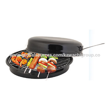 India Kawachi Enamel Non Stick Excellent Coating Bbq Gas Grill Pan