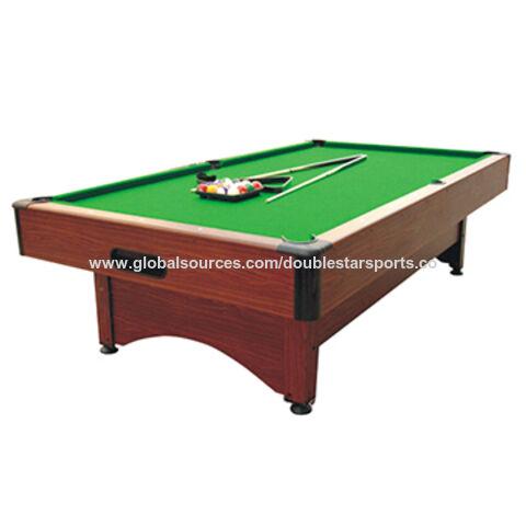 China Popular American Cheap Classic Pool Table MDF Ft Billiard - Classic billiard table