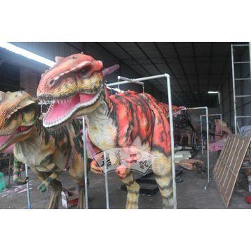 95a1c9df538e ... China Hot sale lightweight handmade painted robotic dinosaur costume ...