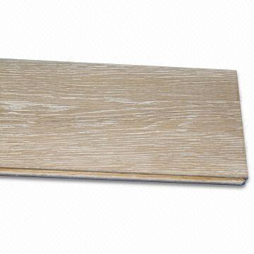 Archaized Solid Wood Floor With Tongue And Groove Joints Global