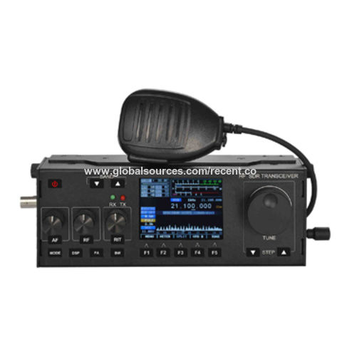China RS-918SSB Color HF-SDR Transceiver Mobile Radio from