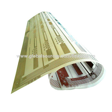 China Ultra-thin Flexible PCB Assembly Single Side with PET