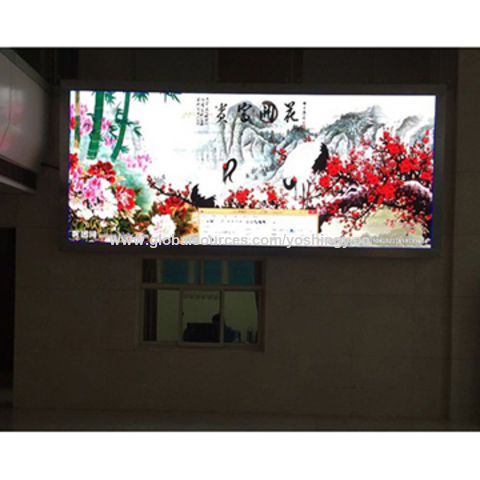 China High cost-effective indoor P4 LED wall on Global Sources
