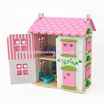 China Wooden Dollhouse Miniatures from Wenzhou Wholesaler