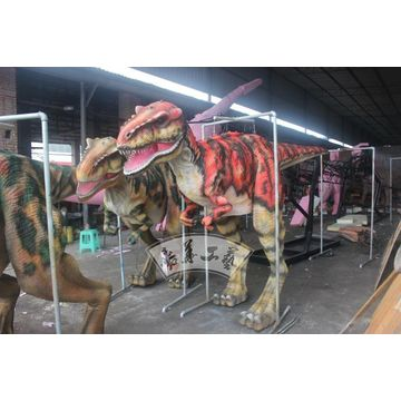 97f0b4eb4c9d ... China Hot sale lightweight handmade painted robotic dinosaur costume