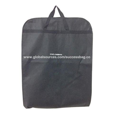 China Garment Bag With Silkscreen Logo Printing Measure12160cm