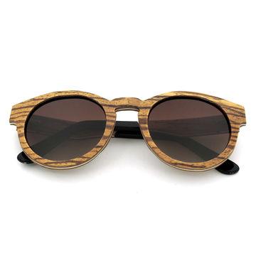 China Custom-made wooden sunglasses, engraving your logo free polarized sunglasses
