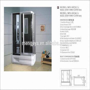 plastic shower light cover modern shower stall 5mm grey door glass ...