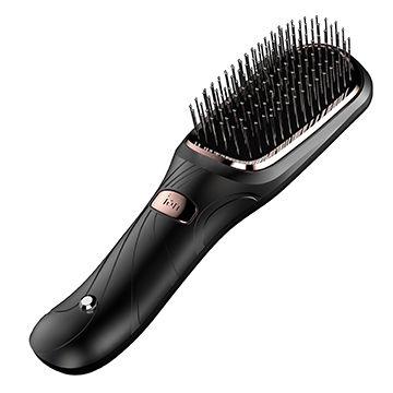 China Instant shine anti-static ionic hair brush, vibration