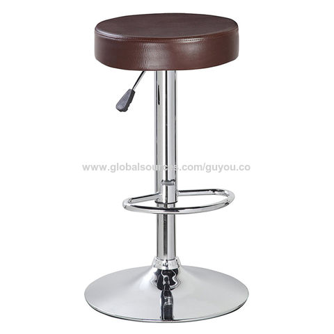 Super China Gy 1000 Round Barstools Swivel Pu Leather Kitchen Gamerscity Chair Design For Home Gamerscityorg