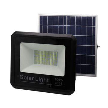 solar floodlights on