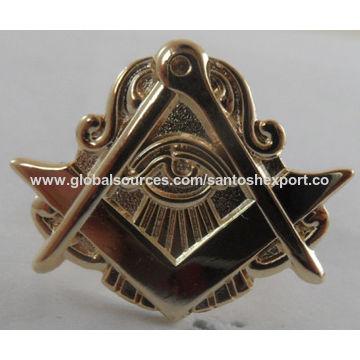 India Masonic Badges from Delhi Wholesaler: Santosh Export