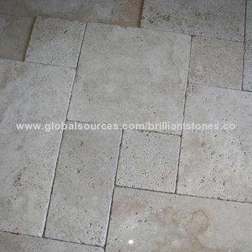 french pattern tile light white travertine tiles different sizes finishes french