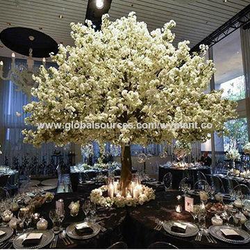 China 4 meters big fiberglass artificial simulation white cherry china 4 meters big fiberglass artificial simulation white cherry blossom flower tree mightylinksfo
