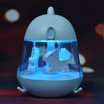 Carousel Music Bedside Kids Night Light