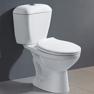 China Bathroom Two Piece Water Closet WC Toilet