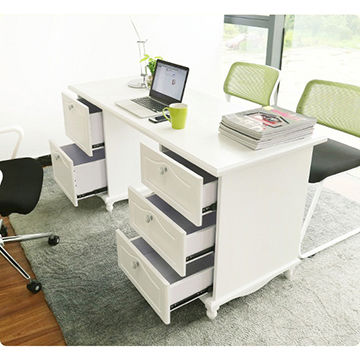 China New Modern White Home Office Laptop Table ...