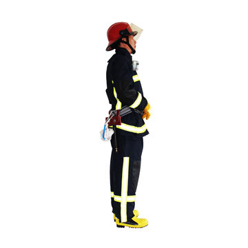 China Four Layers Structure Firefighter Suits with Reflective Tape