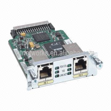 Cisco Router Modules Hwic-2fe Ready to Sale  | Global Sources
