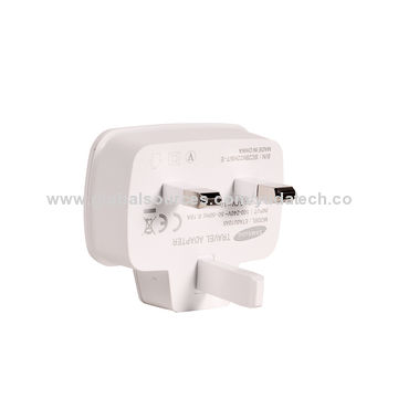 China UK travel charger for iPhone and related devices with one year warranty, 100K, 5 days leading time