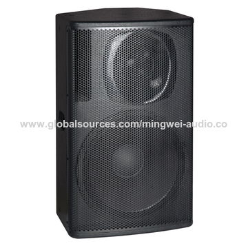 China Big power professional passive pro speaker stage audio system 15 inches