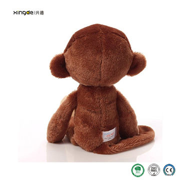 China Wholesales Monkey Stuffed Animal Toys From Dongguan