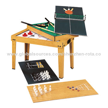 9 In 1 Multiple Games Table Manufacturer Global Sources