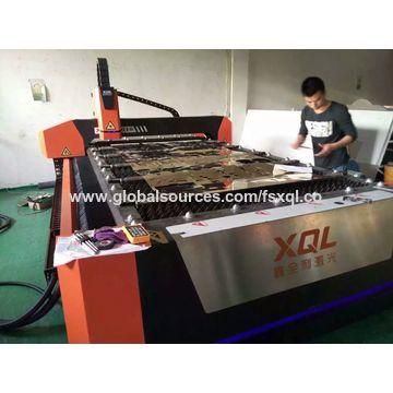 China 500/700/1000 watt fiber laser cutting machine with Raycus /IPG source