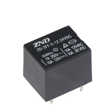 China 3FF/T73 Household Appliances Relay 7A/24V 5-pin Silver Contact