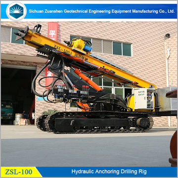 100m Drilling Depth Anchor Hole Drilling Machinery,oil Well Drilling