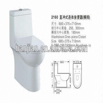 ... China Toliet Water Closet Ceramics Factory Kohler 4 Inch Water Closet